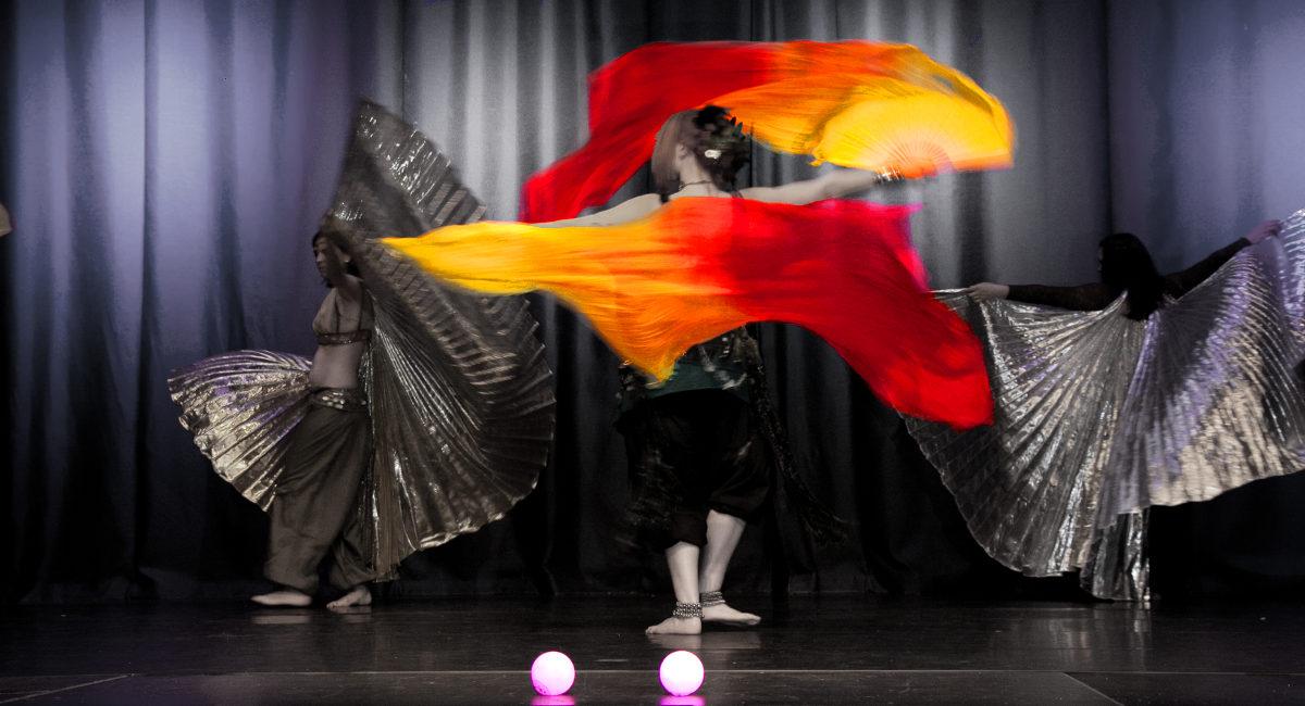 Tanzen ist die Freude an der Welt der Phantasie
